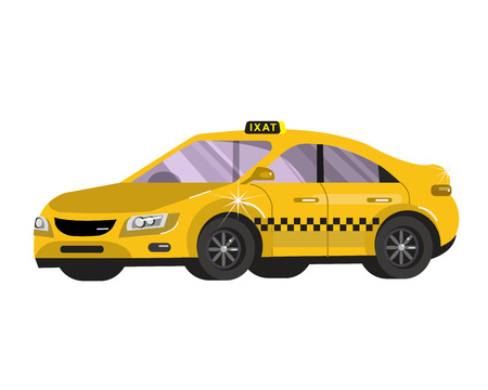 stock car: Taxi car. Flat styled vector illustration. Taxi Vector. Taxi Object. Taxi Picture. Taxi Image. Taxi Graphic. Taxi Art. Taxi Drawing stock vector Illustration