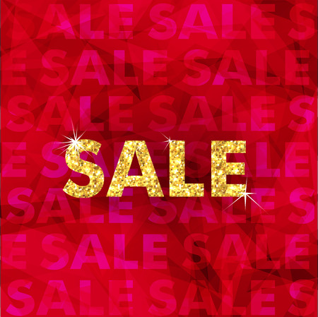 clothing stores: Christmas gold Sale typography. Merry Christmas text. Sale poster with golden typography elements