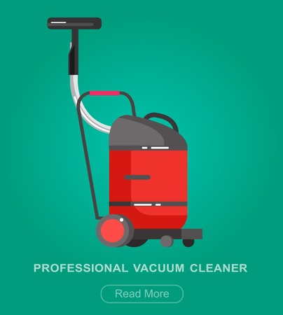 dirty carpet: detailed professional vacuum cleaner icon. Vector illustration.