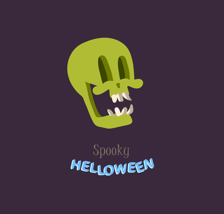 Vector icon and element for Helloween. greeting card for Happy Halloween design icon. Concept illustration. Sign and symbol, element. Illustration