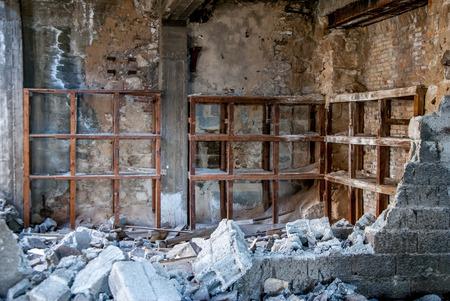 abandon: abandon factory Stock Photo