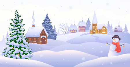 Christmas design concept illustration. 向量圖像