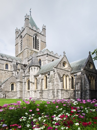 St. Christ Church in Dublin, Ireland Stock Photo