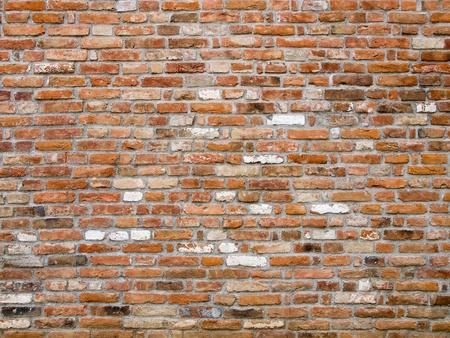 brick mason: Detail of old brick wall