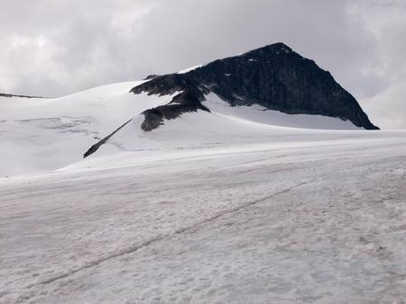 Highest norwegian mountain Galdhopiggen Stock Photo - 11506651