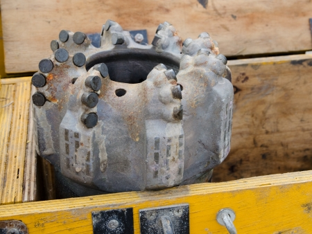 Special drilling bit used for deep drilling for oil