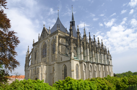 Saint Barbora gothic cathedral, Czech republic photo