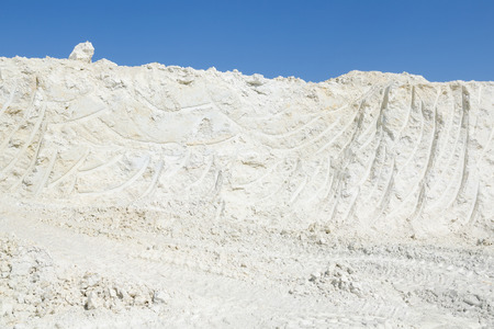 kaolin: Kaolin excavation for ceramics and paper industry