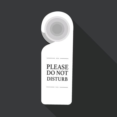 minibar: Do not disturb sign