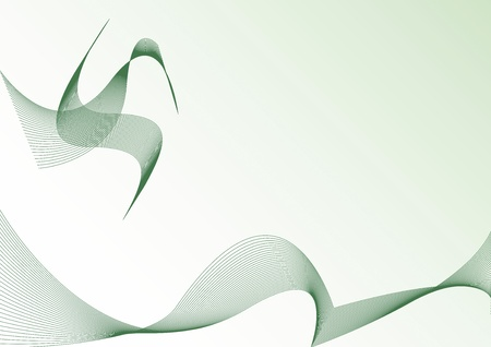 abstract background with stylize bird