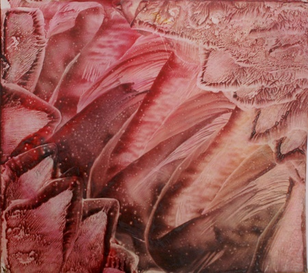 encaustic: Abstract vax painting background - encaustic