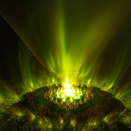 aurora - abstract background  raster fractal graphics