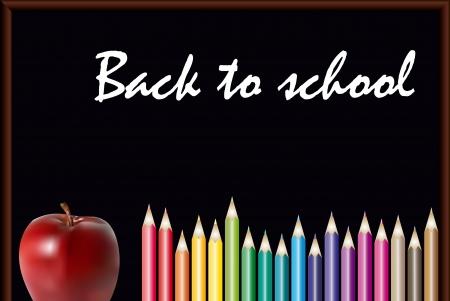 back to school  illustration Stock Illustration - 14766279