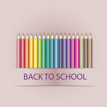 back to school illustration Stock Illustration - 14766275