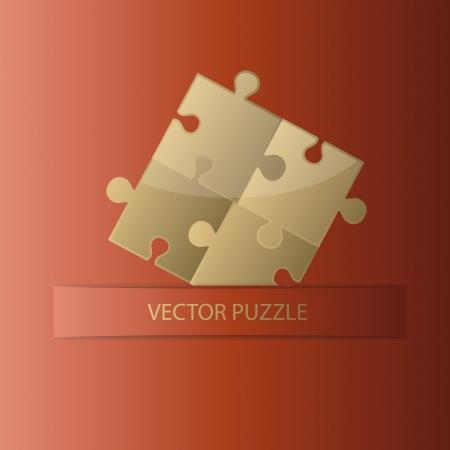 creative puzzle background Stock Photo