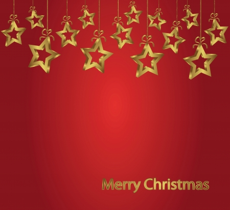 christmass: christmass fondo abstracto con estrellas de oro