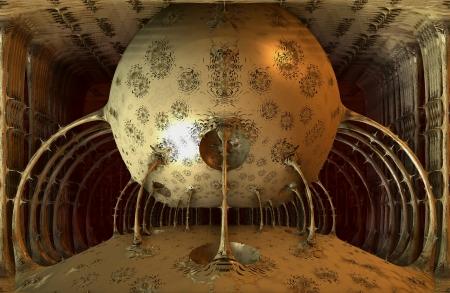 renders: futuristic ball, 3D renders