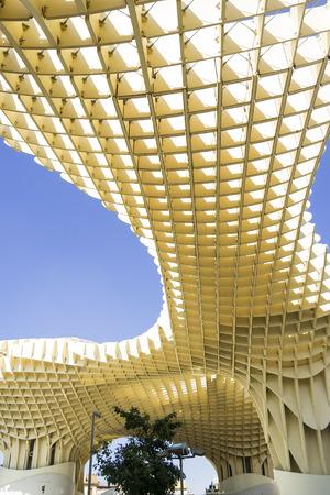 parasol: Metropol Parasol in Sevilla