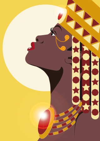 AFRICAN PRINCESS Vector