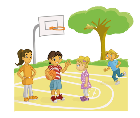 persuading: Persuading BOY PLAY BASKETBALL TO A GIRL