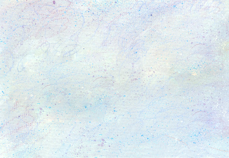 Light blue cloud texture made by acrylic paint and color pencil Zdjęcie Seryjne