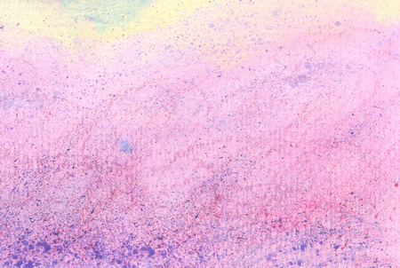 Pink acrylic paint and color pencil texture