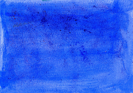 Royal blue splattered acrylic paint texture