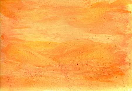 Light orange acrylic paint texture Zdjęcie Seryjne