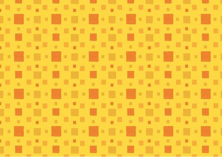 Yellow and orange seamless squares pattern