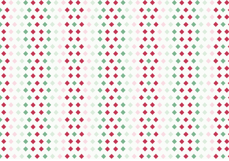Colorful and seamless pattern with rhombuses Ilustracja