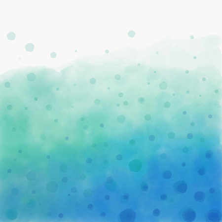 Watercolor refreshing water with bubbles Zdjęcie Seryjne