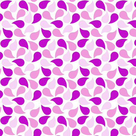 Pink and purple petal pattern on a white background