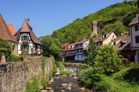 alsace: Kaysersberg in Alsace, France