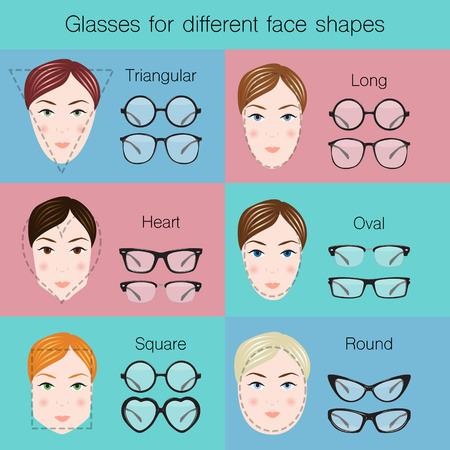 vasos: Ilustración de los diferentes vidrios de diferentes formas dace.
