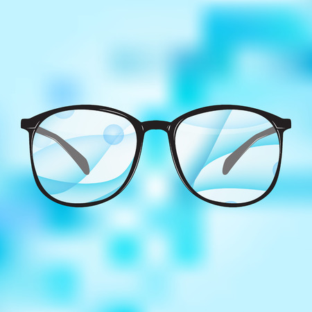 diopter: Illustration of glasses