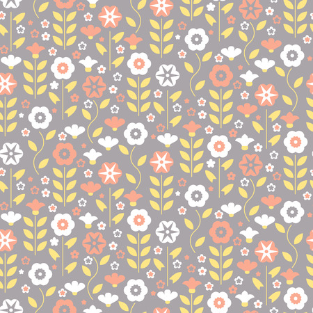 intricacy: Seamless pattern with beautiful gentle bindweeds. It can be used for greeting cards, birthday cards, wedding inwitations, wallpapers, textile, etc. Vector illustration Illustration
