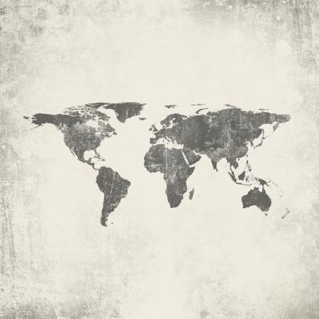 wall maps: Grunge fondo