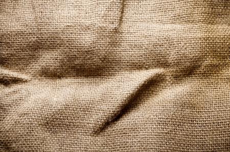 gunny bag:  Sacking fabric
