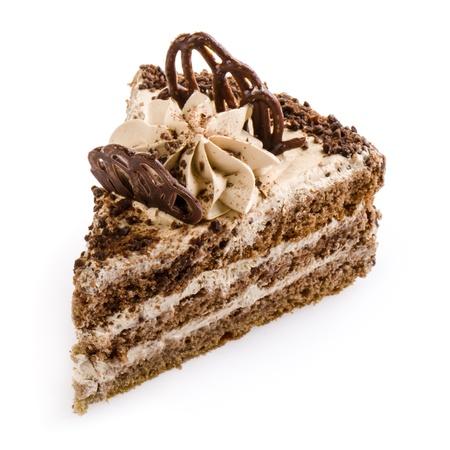 Cake on white background Stock Photo - 19303389