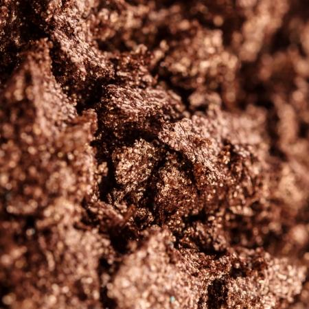 ojos marrones: La textura de la sombra de ojos