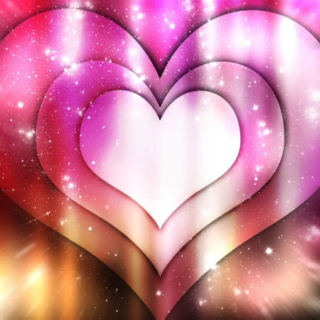 deep pink: Abstract love background Stock Photo