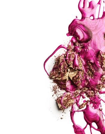 kosmetik: Nagellack mit Crushed Lidschatten