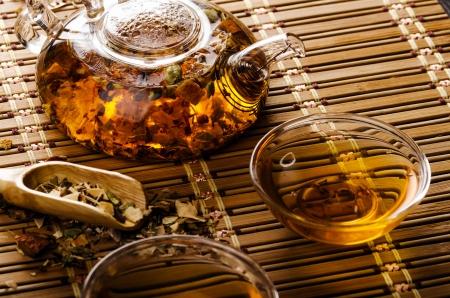 Tea still life photo