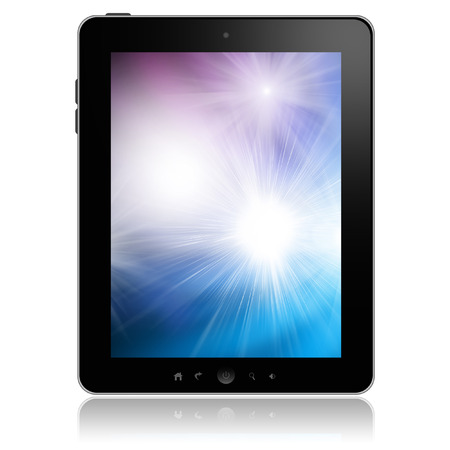 tablet: Tablet pc  Stock Photo