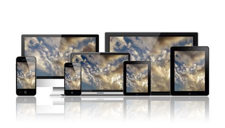 Modern digital devices  photo