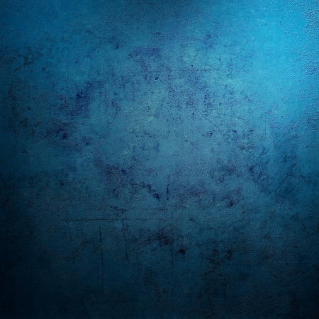 abstract backgrounds: Grunge blue background