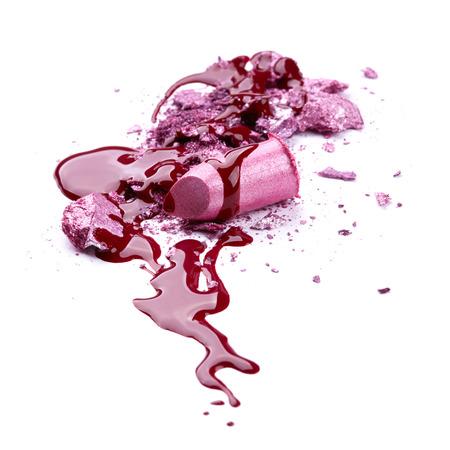 Nail polish, eye shadow and lipstick  photo