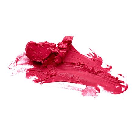 Smudged lipstick Stock Photo - 28311805