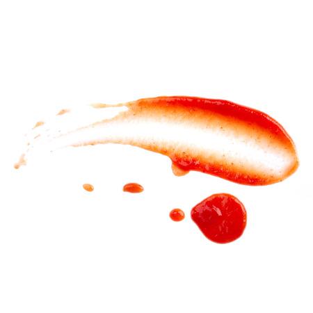 Ketchup isoliert auf weißem Hintergrund Standard-Bild - 28751140