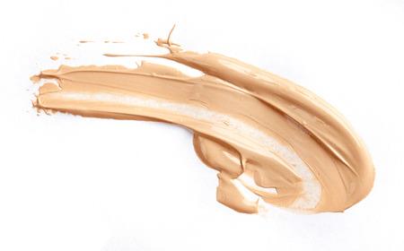 Liquid tone foundation isolated on white background 스톡 콘텐츠